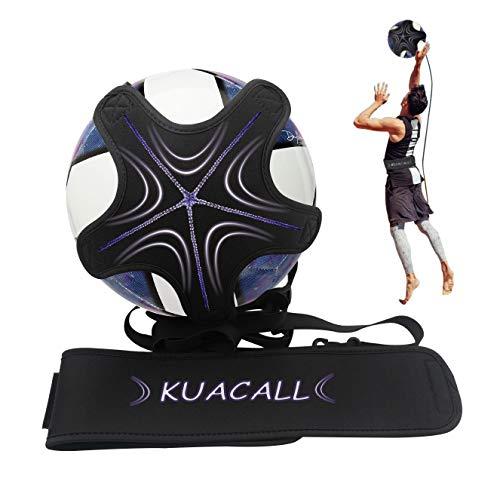 KUACALL Football Entrainement Ceinture, Football Kick Trainer Pentacle Mains Libres Pratique Solo...
