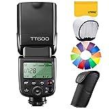 【GODOX 正規代理店/日本語説明書付】GODOX Thinklite TT600 フラッシュ スピードライト ストロボ 内蔵2.4G ワイヤレストリガ・システム 1/8000S高速シンクロ Canon, Nikon, Pentax, Olympus DSLR カメラ対応