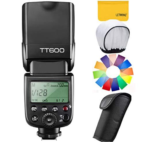 GODOX TT600 カメラフラッシュ 内蔵2.4G ワイヤレストリガ・システム 1/8000S高速シンクロ Canon, Nikon, P...