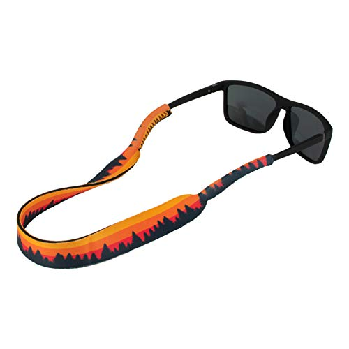 Ukes Premium Sunglass Strap - Durable & Soft Eyewear Retainer Designed with Floating Neoprene Material - Secure fit for Your Glasses and Eyewear. (The Foresters)