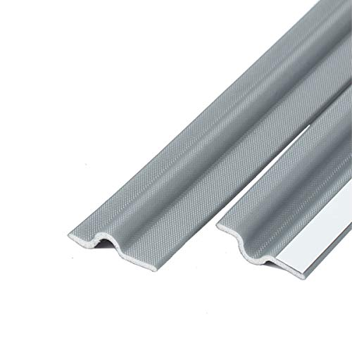 耐摩耗性ナイロン素材 窓 ドア すきま風防止 防音パッキン 引き戸 扉 玄関用すきまテープ 防音戸当たりテープ 全長は約6メートル