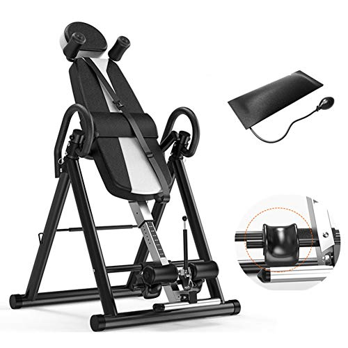 Buy Discount Inversion Table for Back Pain Relief Heavy Duty Foldable Back Stretcher Machine, Gravit...