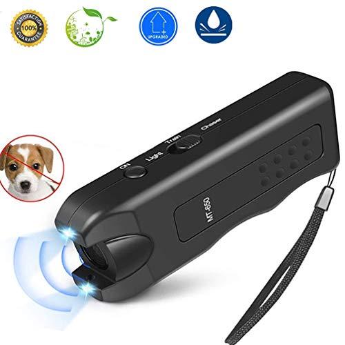APlus+ Handheld Dog Repellent, Ultrasonic Infrared Dog Deterrent, Bark Stopper + Good Behavior