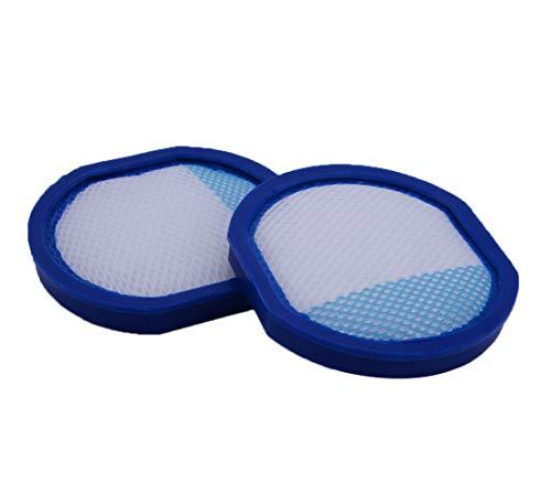 Eastar - 2 filtros de vacío inalámbricos para aspiradoras Hoover React todo el hogar o Fusion