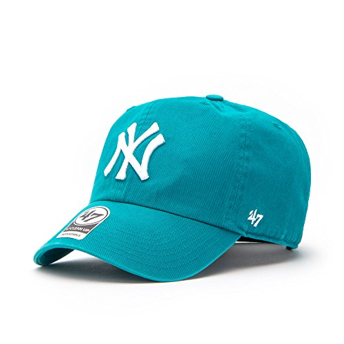 '47 Brand New York Yankees Clean Up Relaxed 'n' Curved Strapback Casquette - Taille unique - neptune