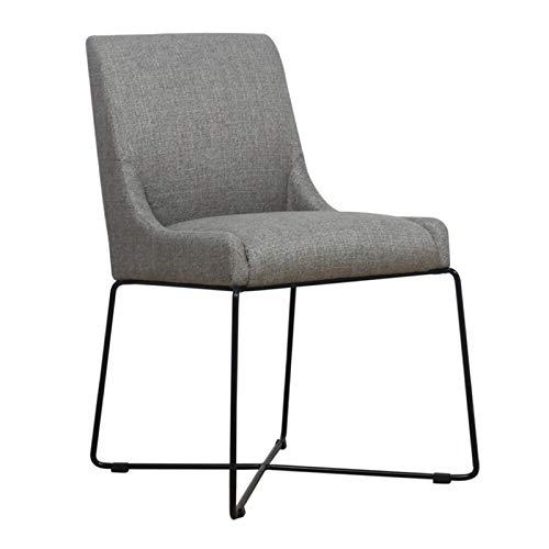 Sofá silla de salón de hierro forjado respaldo silla de ocio con cojín para taburete familiar muebles de hogar