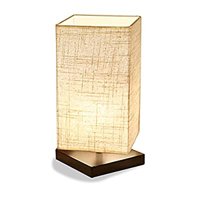 ZEEFO Bedside Table Lamp good for Bedroom, Living room, kids room