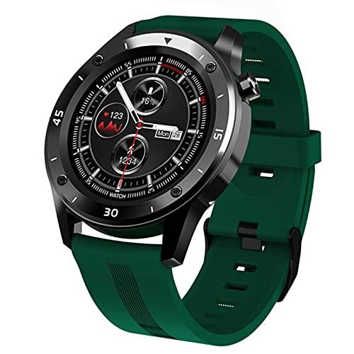 LAB F22 Smart Watch Impermeable Gran Pantalla Táctil Pantalla De OLED Mensaje Tiempo De Frecuencia Cardíaca Pulsera Inteligente Actividad Fitness Tracker Pulsera Pulsera,A