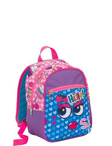 Buy Bargain SJ Small backpack SEVEN FACE - VIolet Blue - 12 liters school