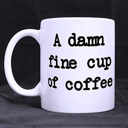 Lustiges Sprichwort 11oz zitiert eine Keramik-Kaffeetasse-Schale Beste auserlesene weiße Keramik-Kaffeetasse-Schale