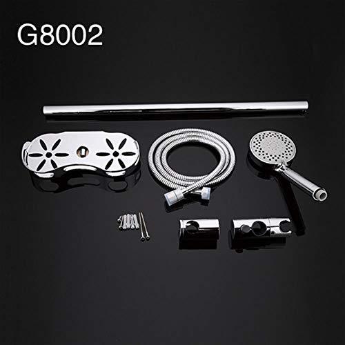 5151BuyWorld waterkraan, voor douche, douche, stangen, verlenging van douchegoot, Plomberie, flexibele muur, montage G8002