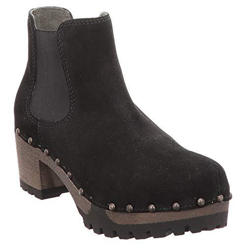 Softclox S3358 Isabelle Kaschmir - Damen Schuhe Stiefel - 06-schwarz, Größe:42 EU