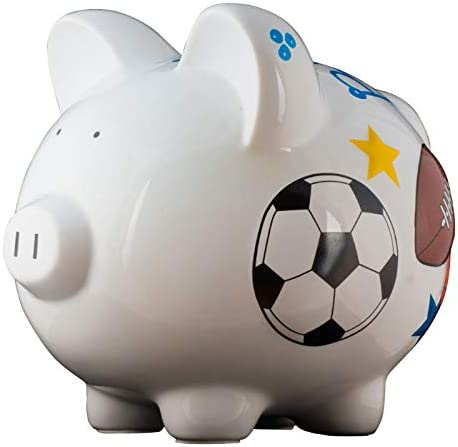 Personalized Sports Piggy Bank for – and Max 48% 25% OFF OFF Uniq Colorful Boys