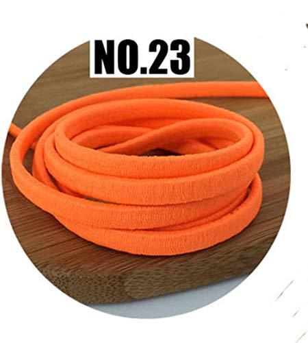 5/10/20 M 5mm Verdikte Kleur Elastische Touw Rubber Band Dikke Elastische Band DIY Hoofd Touw Riem Naai Scrapbooking Accessoires, NO23,5mm