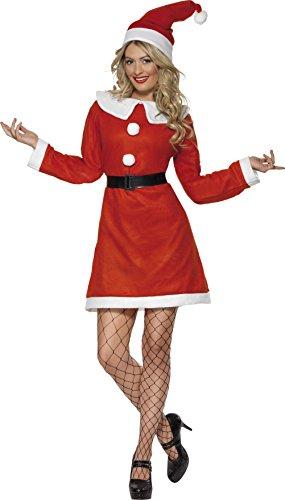 Smiffys Costume Miss Santa, Taglia M