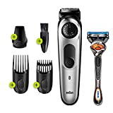 Braun Beard Trimmer for Men BT5260, Cordless & Rechargeable...