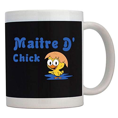 Teeburon Maitre D' Chick Taza cerámica 11 onzas