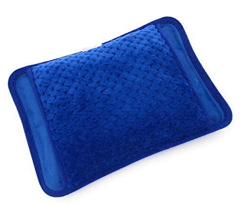 MovilCom Bolsa de Agua Caliente Eléctrica | Recargable en sólo 15 minutos | Calentamanos | Dolor muscular, espalda, menstrual 600Watt (Mod.11)