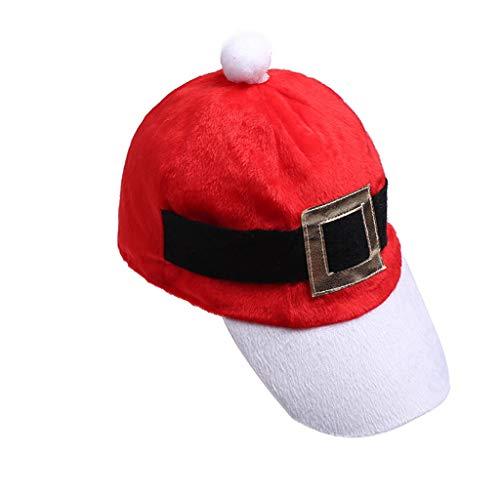 Yue668 - Sombrero de cinturn de Navidad para nios y adultos, gorro de primavera, disfraz de rbol de Navidad