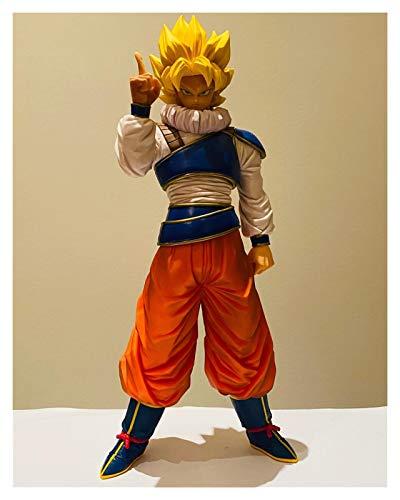 CHENZHEN Dragon Ball Super Son Goku Goku SSJ Space Stace Space Stare 270mm PVC Figuras de acción Toy Dragon Ball Z Goku Figurine Toys CZ (Color : No Retail Box)