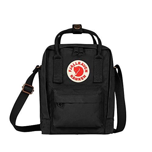 Fjällräven Unisex-Adult Kånken Sling Sports Backpack, Black, One Size