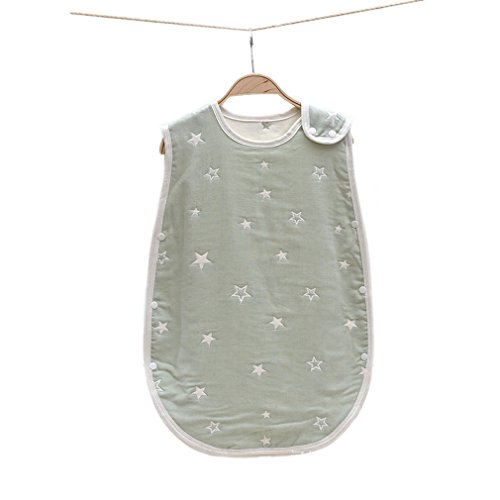 Kauftree Baby Kinder Schlafsack Sommerschlafsack Ganzjahresschlafsack Außensack Gaze Frühjahr Sommer Jungen Mädchen (45x80cm, 7)