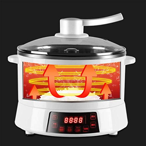 41 e4N78uFL - CJTMY 4l große Kapazitäts-Haushalt Reiskocher, Multifunktionshebe Elektro Hot Pot, einstellbar for Verschiedene Gänge