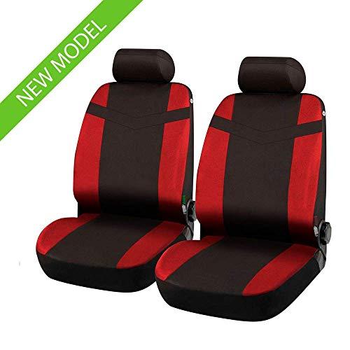 Coprisedili Anteriori TIGUAN Versione (2007-2016) compatibili con sedili con airbag, con Fori per i poggiatesta e bracciolo Laterale