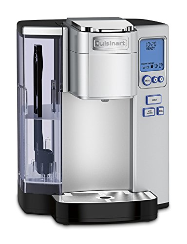 Cuisinart SS-10P1 Premium Single-Serve Coffeemaker Coffemaker, 72 Oz, Silver