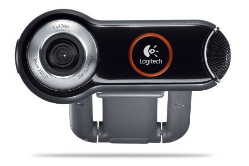 Logitech Pro 9000 PC Internet Camera Webcam with 2.0-Megapixel Video Resolution and Carl Zeiss Lens Optics (Renewed)