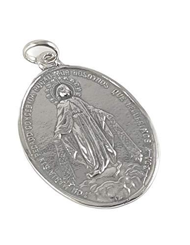 Desconocido Colgante Medalla Plata la milagrosa