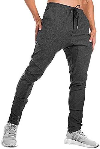 FASKUNOIE Men s Joggers Running Slim Fit Active Cotton Plus Size Sweatpants with Pockets Deep product image