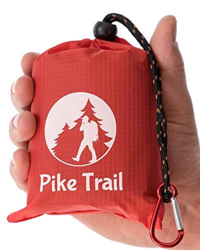 Pike Trail Outdoor-Taschendecke Kirschrot