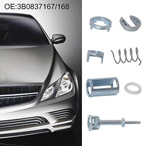 YSHtanj Auto Deur Lock Reparatie Kit Onderhoud Gereedschap Reparatie Gereedschap Voor Links Rechts Auto Voertuig Deur Lock Cilinder Reparatie Kit voor Volkswagen Passat
