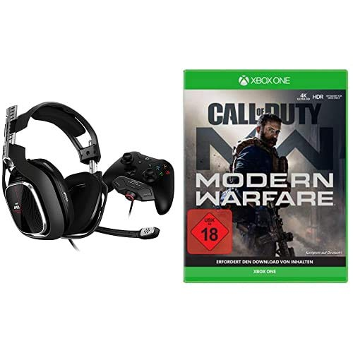 Astro A40 TR Gaming-Headsest inkl. MixAmp Pro Adapter [PC/Mac/Xbox One] + Call of Duty: Modern Warfare - [Xbox One]