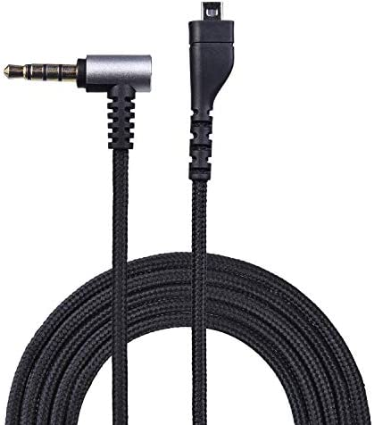 KeyEntre Replacement Audio Cable for SteelSeries Arctis 3, Arctis Pro Wireless, Arctis 5, Arctis 7, Arctis Pro Gaming Headset 2m/6.5 Feet (Male to Female)