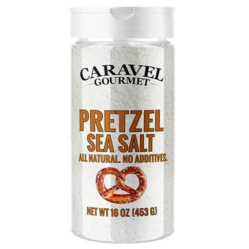 Premium All Natural Coarse Food Grade Topping for Pretzels, Bagels & Breads