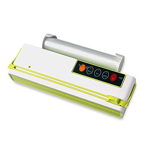 QiHaoHeji Sellador al vacío Máquina de envasado de maquinaria de Alimentos para el hogar Máquina de Sellado de vacío Comercial Máquina de Sellado de vacío (Color : Verde, Size : 40x15.5x7.9cm)