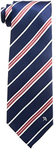 (アーノルド パーマー)Arnold Palmer 裾ワンポイント ストライプネクタイ 003255-20000-4002 02 紺ベース 赤ストライプ 裾ワンポイント FREE