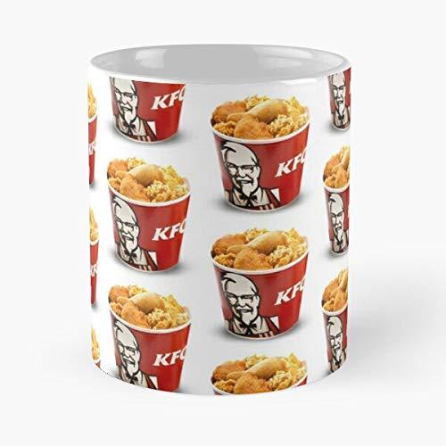 KFC Fried Kentucky Bucket Chicken Best 11 oz Kaffeebecher - Nespresso Tassen Kaffee Motive