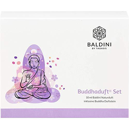 Baldini Buddhaduft Set mit 10 ml Raumduft und Duftstein Buddha, 1er Pack (1 x 155 g)