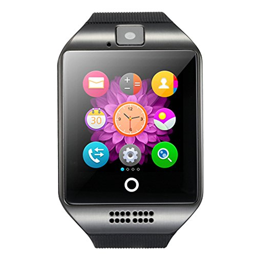 Bluetooth Smartwatch orologio da polso supporto NFC fotocamera TF Card Smart Watch per iOS Android