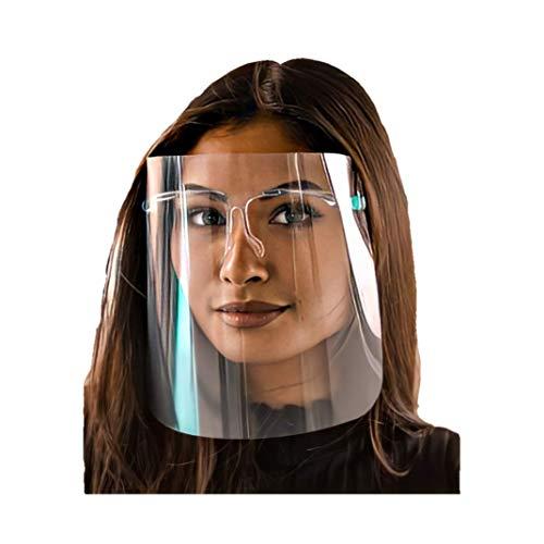WIETRE® Visier Schutzvisier Gesichtsschutz Schutzmaske | beschlägt Nicht Spuckschutz Gesichtsschutzschirm Face Shield Augenschutz | Anti-Spuck Gesichtsmaske
