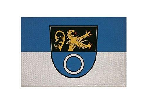 U24 Aufnäher Schwetzingen Fahne Flagge Aufbügler Patch 9 x 6 cm