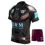 Maillot de Rugby Manly Sea Eagles Hero Edition 2017 T-Shirt de Rugby d'été Tenue de Rugby Homme 'Femme' Enfant Short de Rugby Maillot Original pour Cadeau d'anniversaire-Suit-XXXL