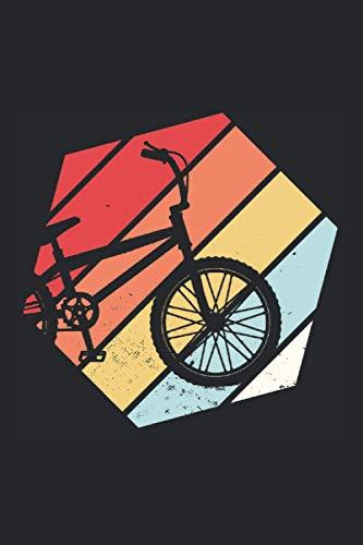 BMX Retro Vintage: BMX & Bike Notizbuch 6' x 9' Herren Geschenk für Kinder & Halfpipe