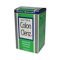 small Natural Balance Ultra Colon Cleanse 2 Pack-60 Vegetarian Capsules