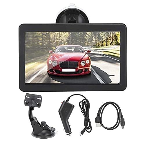 GXXDM Navegador GPS, Taxi portátil del camión del Coche de 7inch HD para Windows CE 6.0