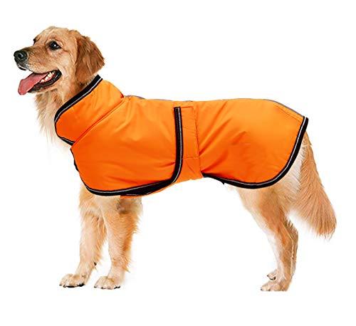 Chaqueta reflectante Parka 300D para perro, impermeable, para perros pequeños,...