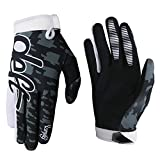 WanKerl Deft 08 Cycling Gloves Mountain Bike Gloves Road Racing Bicycle Gloves for Riding Touch Recognition Full Finger Gloves Men Women (Black, M)